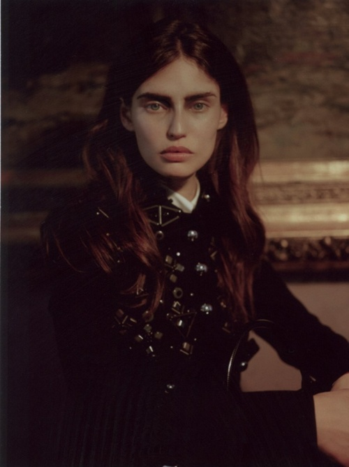 Bianca Balti by Manuela Pavesi for Grey Magazine fall/winter 2012