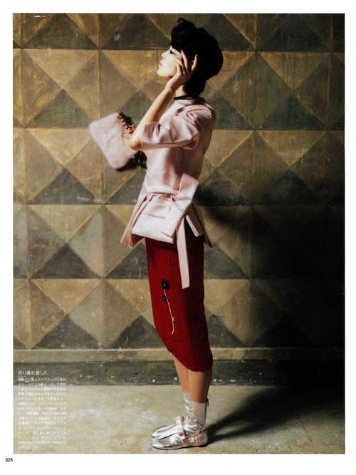 Chiharu Okunugi by Manuela Pavesi for Vogue Japan april 2013