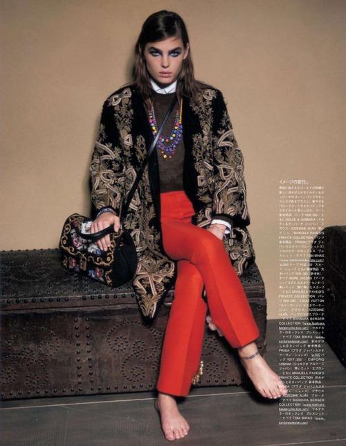 Bambi Northwood Blyth by Manuela Pavesi for Vogue Japan octobre 2012