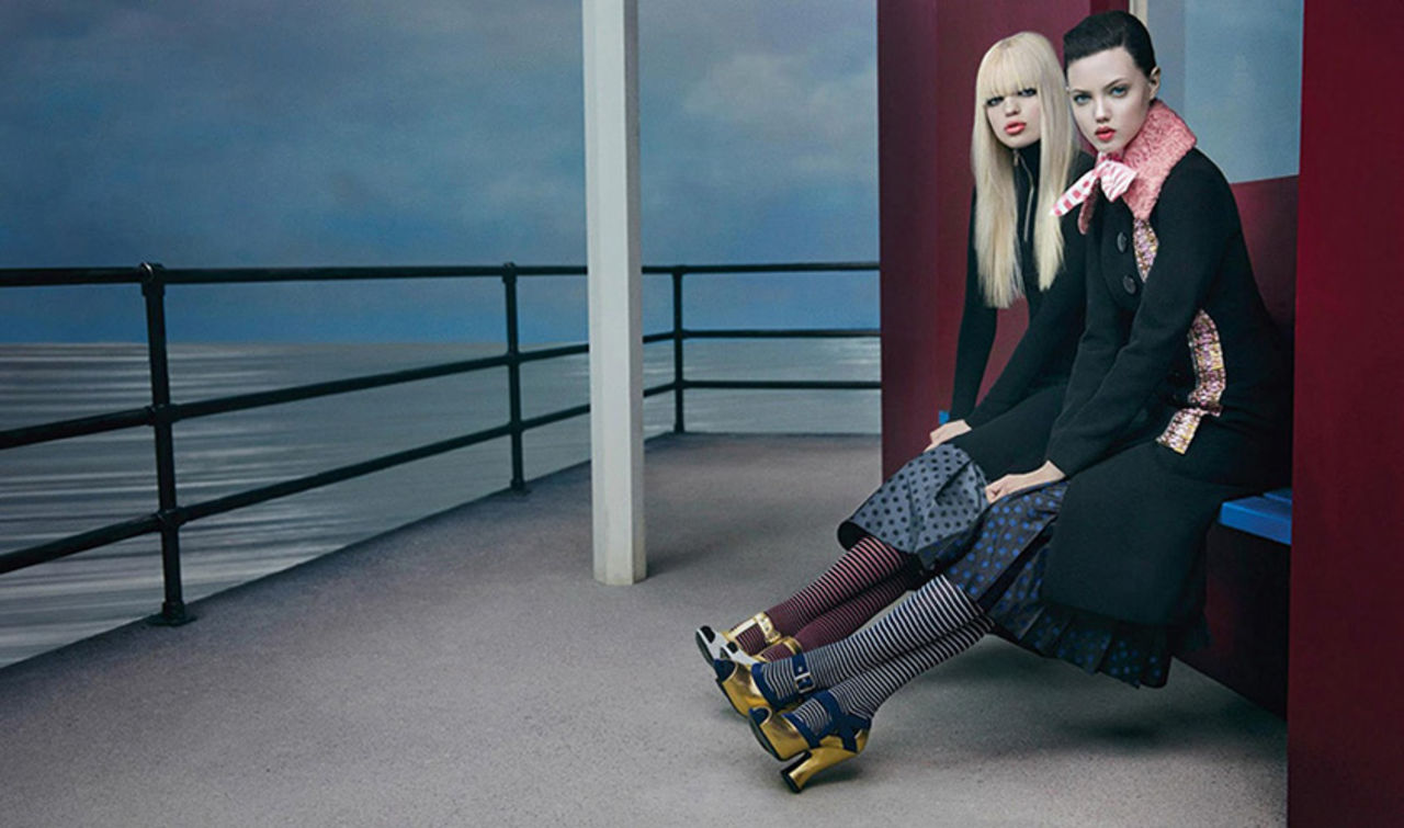 2381514b60a Miu Miu fall-winter 2013 advertising campaign