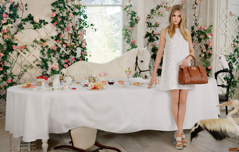 Mulberry  spring-summer 2014 ad campaign