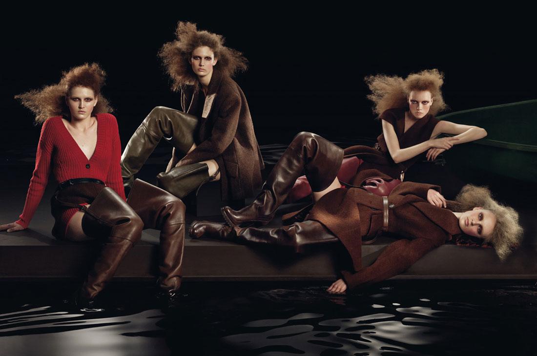 Prada fw09 ad campaign - 1