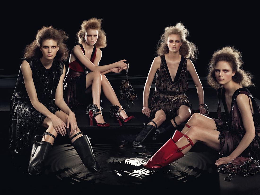 Prada fw09 ad campaign - 2