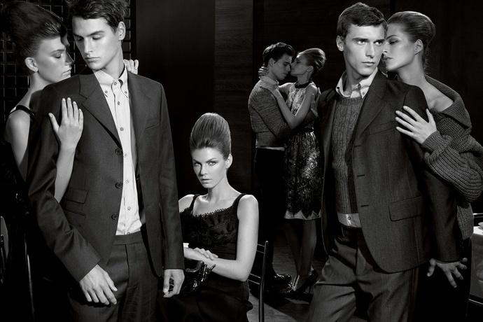 Prada fall2010 ad campaign menswear 01