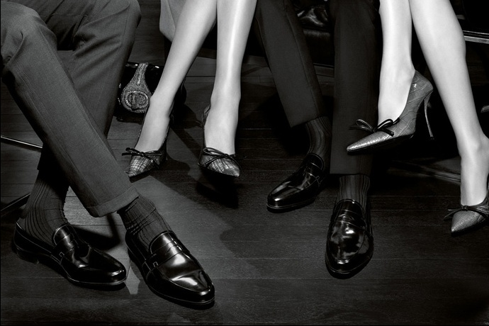 Prada fall2010 ad campaign men's shoes 01
