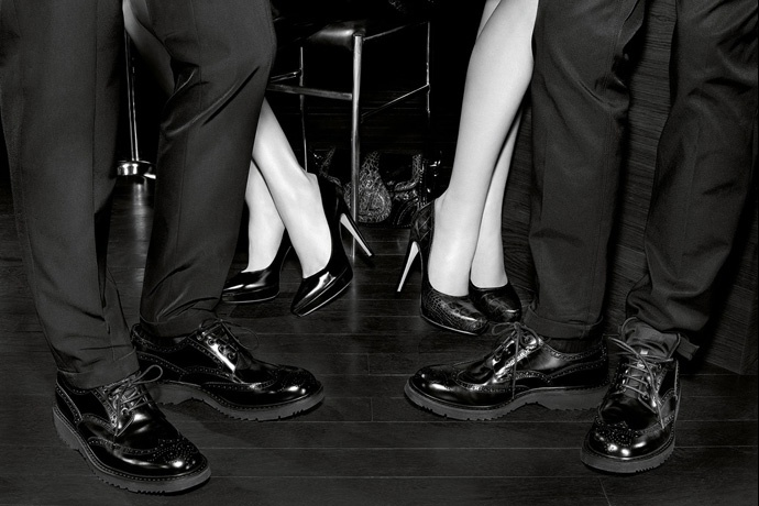 Prada fall2010 ad campaign men's shoes 03