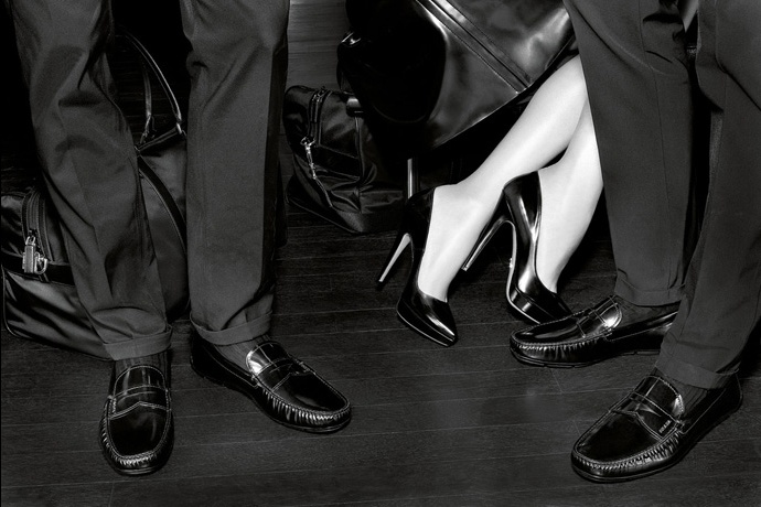 Prada fall2010 ad campaign men's shoes 04
