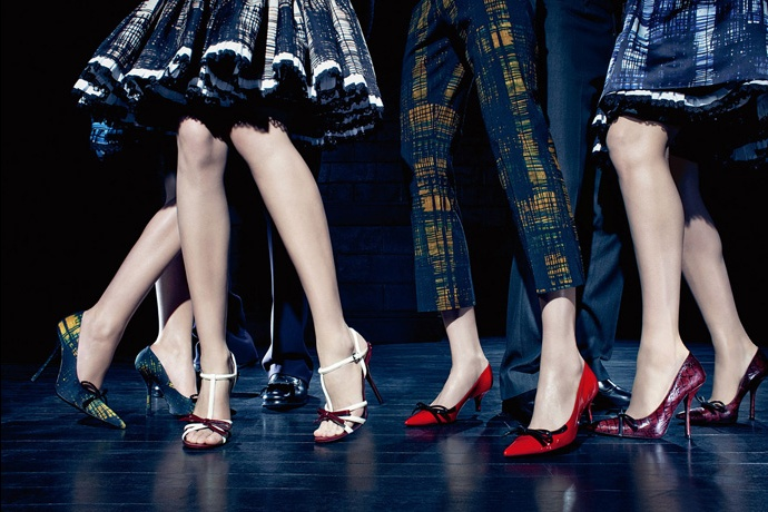 Prada fall2010 ad campaign women's shoes 01
