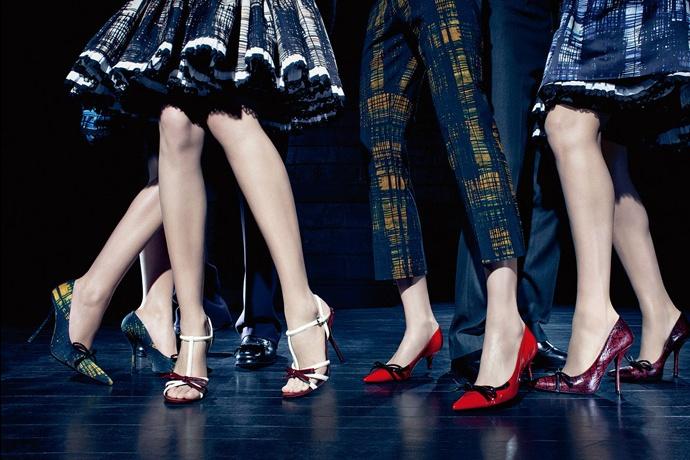Prada fall2010 ad campaign women's shoes 01