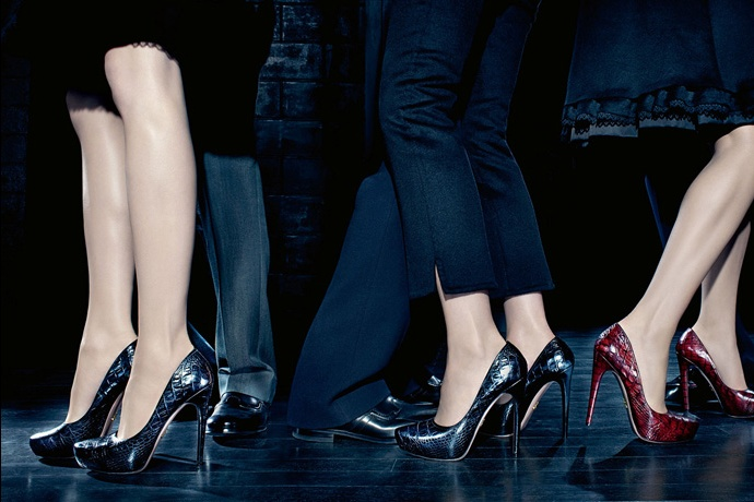 Prada fall2010 ad campaign women's shoes 02