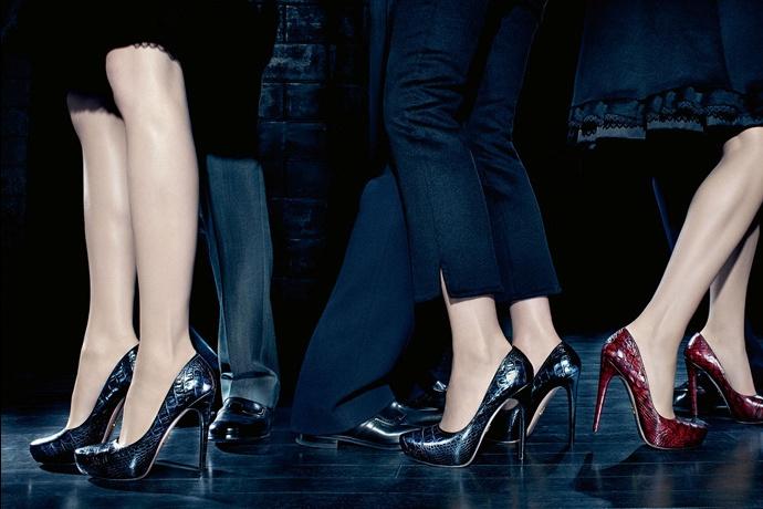 Prada fall2010 ad campaign women's shoes 02