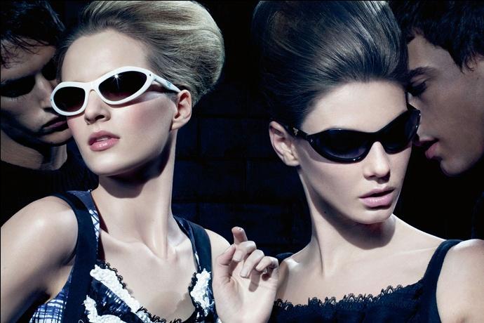 Prada fall2010 ad campaign woman eyewear 01
