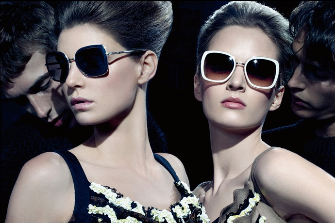 Prada fall2010 ad campaign woman eyewear 02
