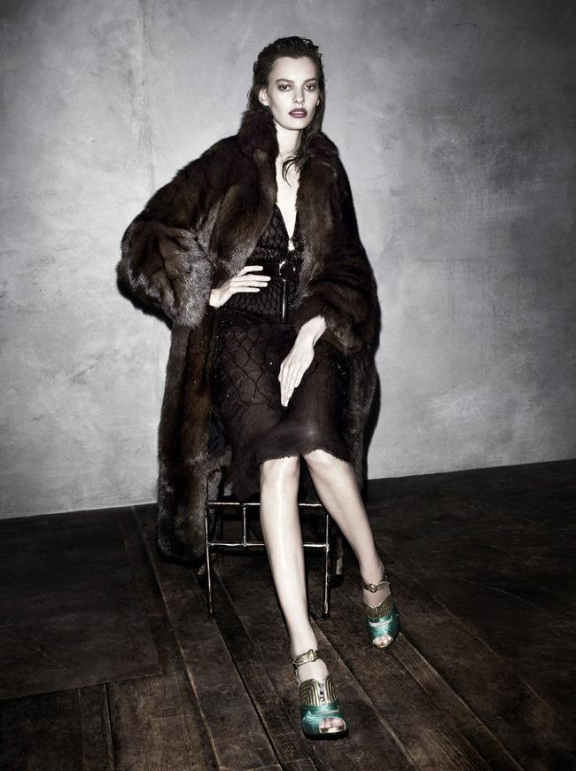Amanda Murphy in Prada fw 2013 ad campaign