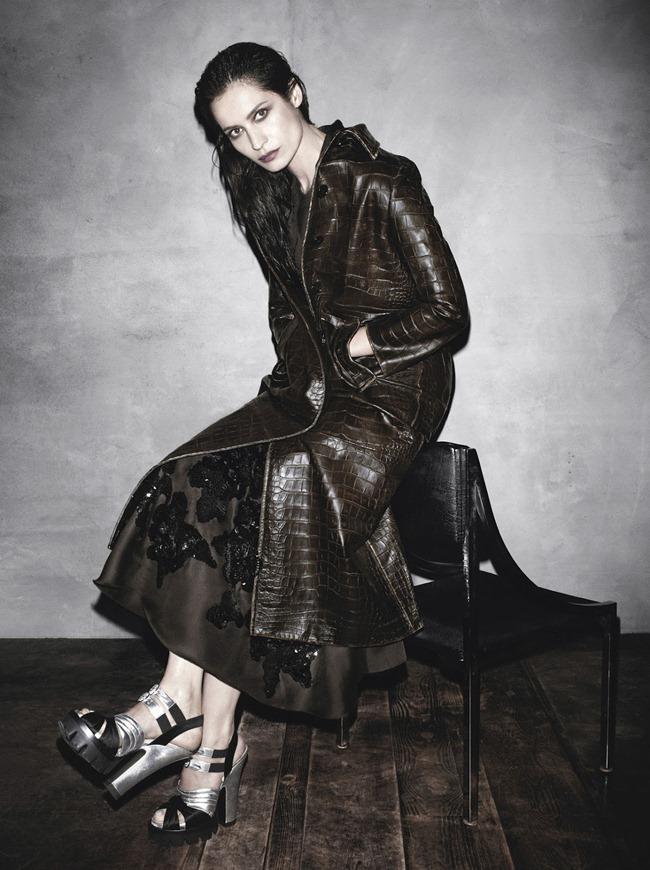 Caroline de Maigret  in Prada fw 2013 ad campaign