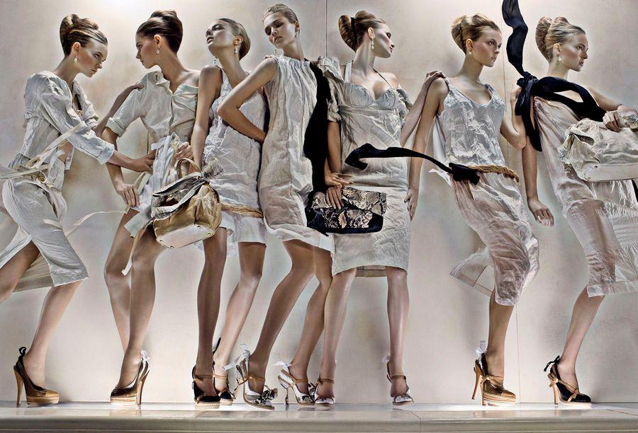 Prada ss09 ad campaign - 5