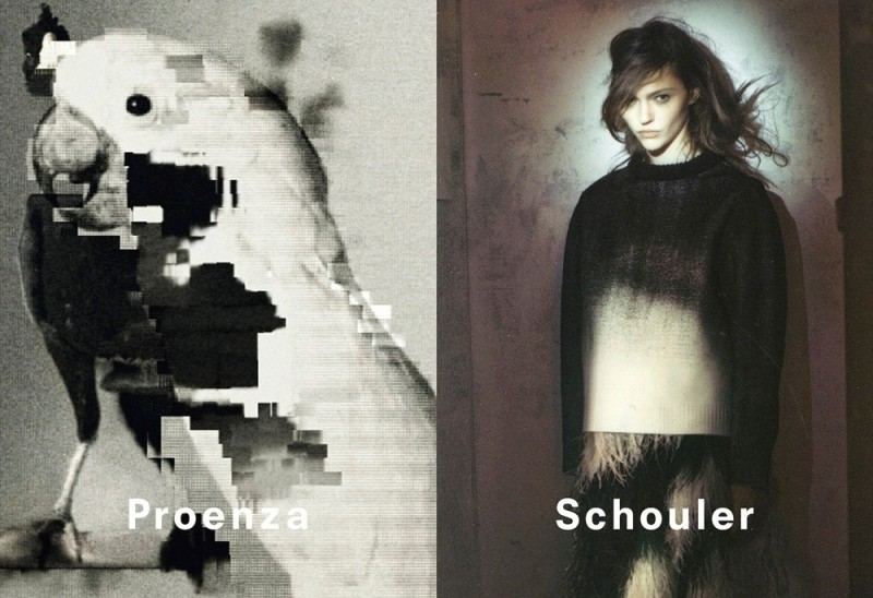 Proenza Schouler fw2013 ad campaign by David Sims
