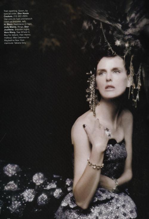 Harper's Bazaar Stella Tennant