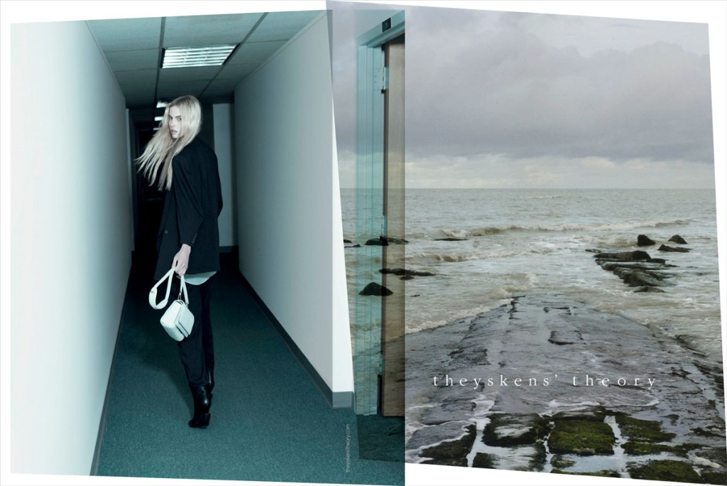 Theyskens' Theory spring 2013 ad campaign
