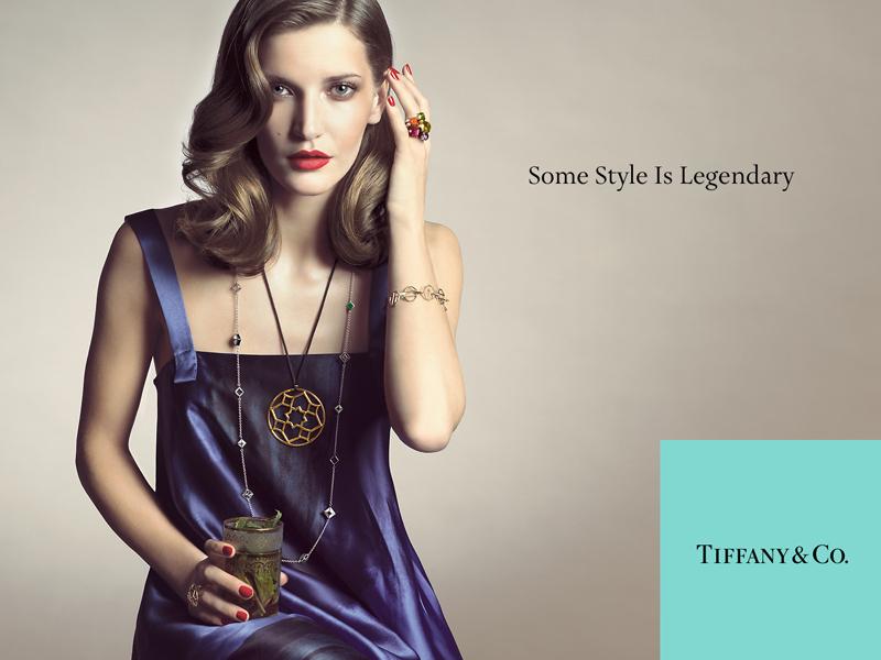 Tiffany campaign Diana