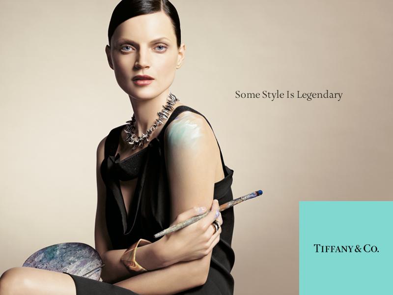 Tiffany campaign Guinevere
