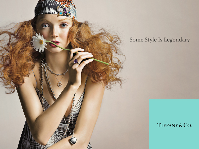 Tiffany campaign Lily