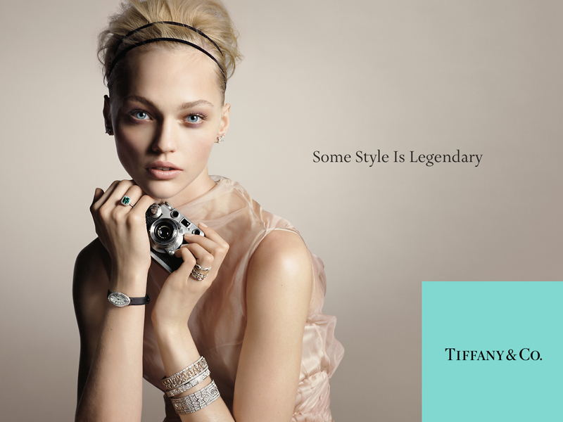 Tiffany campaign Sasha