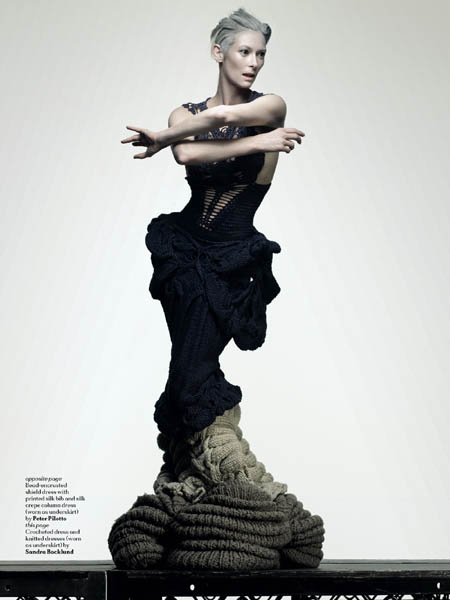 AnOther magazine Tilda Swinton - 2