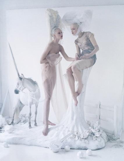 Frida Gustavsson and Mirte Maas by Tim Walker, American Vogue, 2012