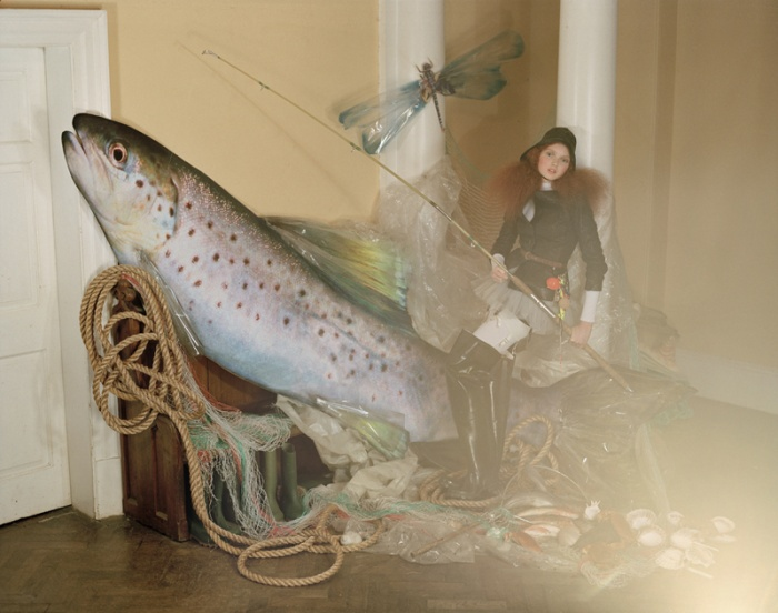 Lily Cole by Tim Walker, 2004