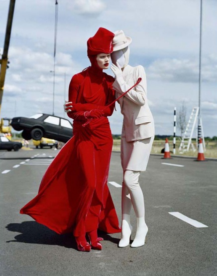 Malgosia Bela and Laura Mccone by Tim Walker, Italian Vogue, 2010