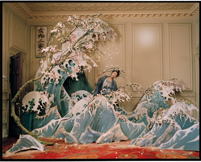 Xiao Wen by Tim Walker, W Magazine, 2011