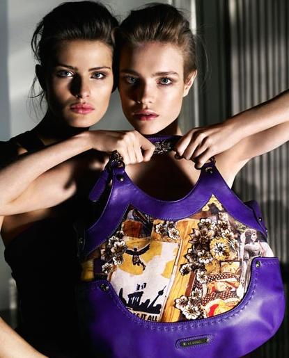 Versace Natalia Isabeli ads