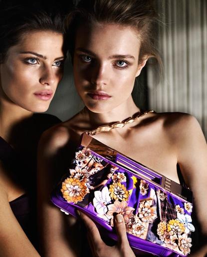 Versace Natalia Isabeli campaign