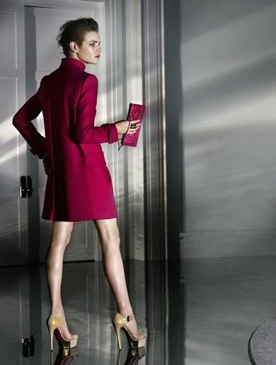 Versace campaign Natalia