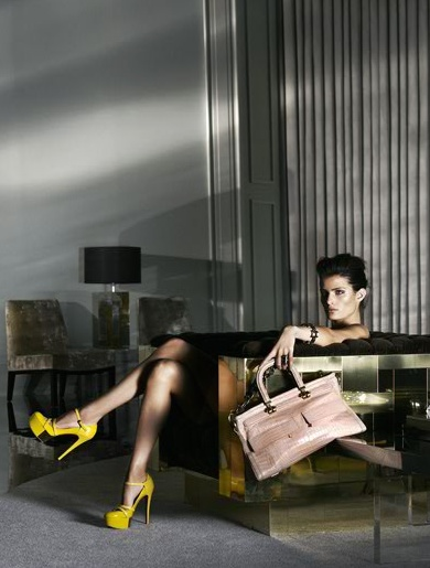 Versace campaign Isabeli