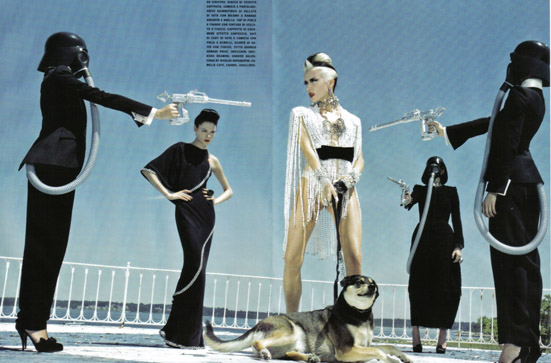 Daphne Guinness Vogue Italia - 11