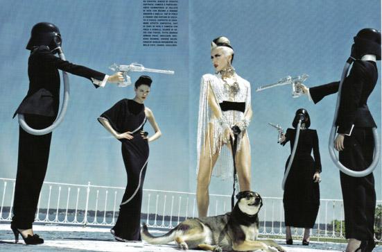 Daphne Guinness Vogue Italia - 11