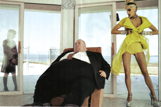 Daphne Guinness Vogue Italia - 12