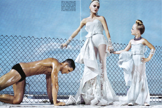 Daphne Guinness Vogue Italia - 13