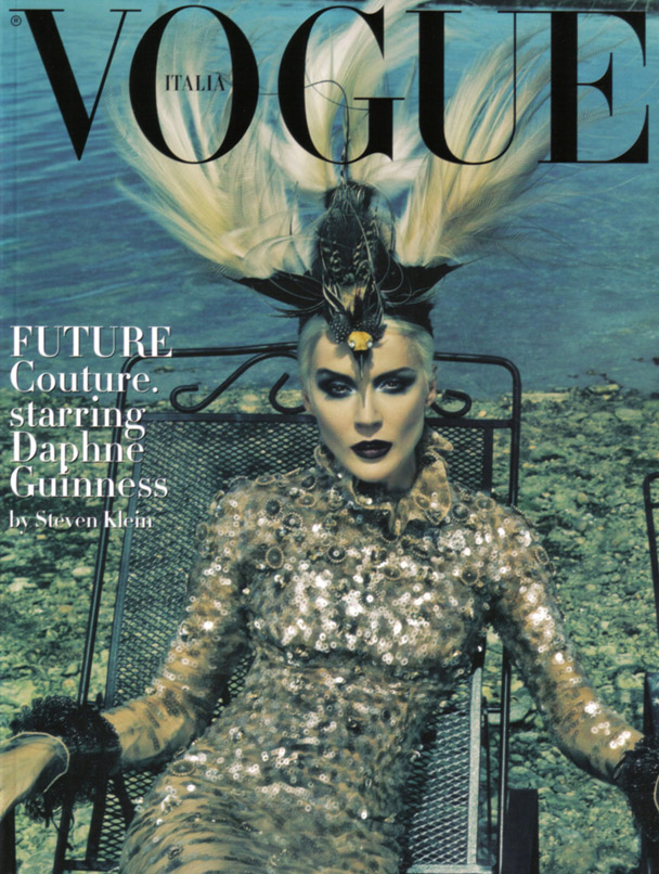 Daphne Guinness Vogue Italia - 1