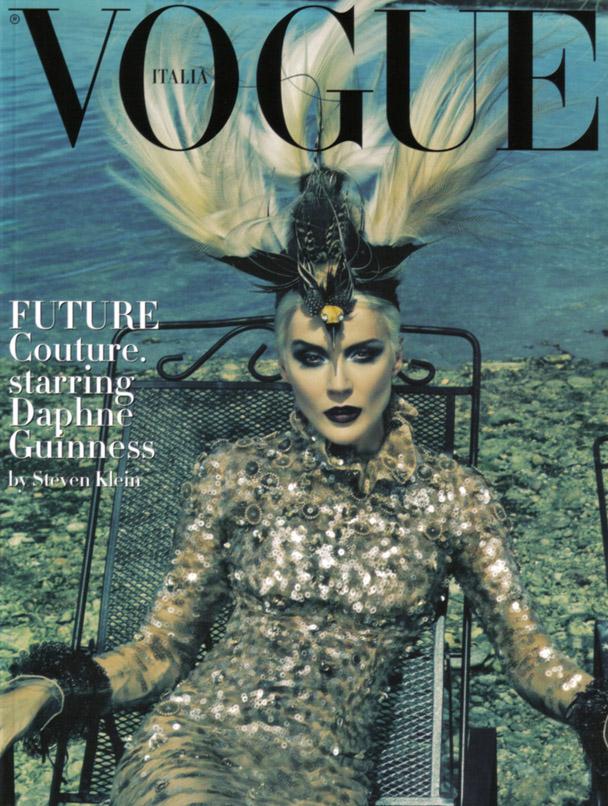 Daphne Guinness Vogue Italia - 1