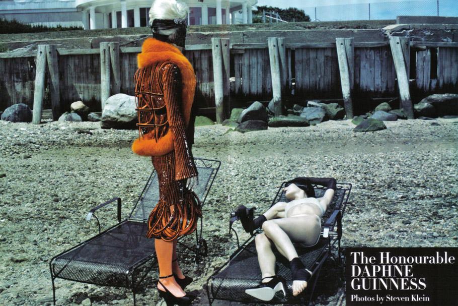 Daphne Guinness Vogue Italia - 2