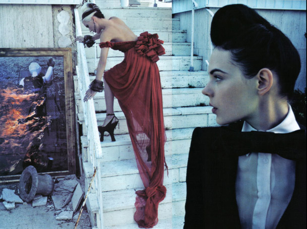 Daphne Guinness Vogue Italia - 6