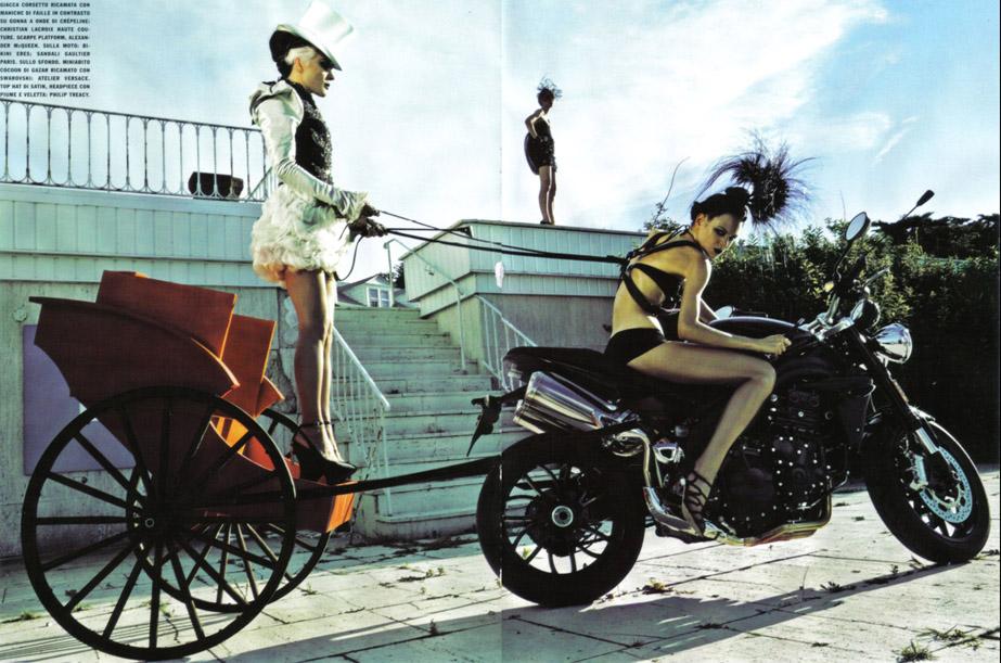Daphne Guinness Vogue Italia - 8