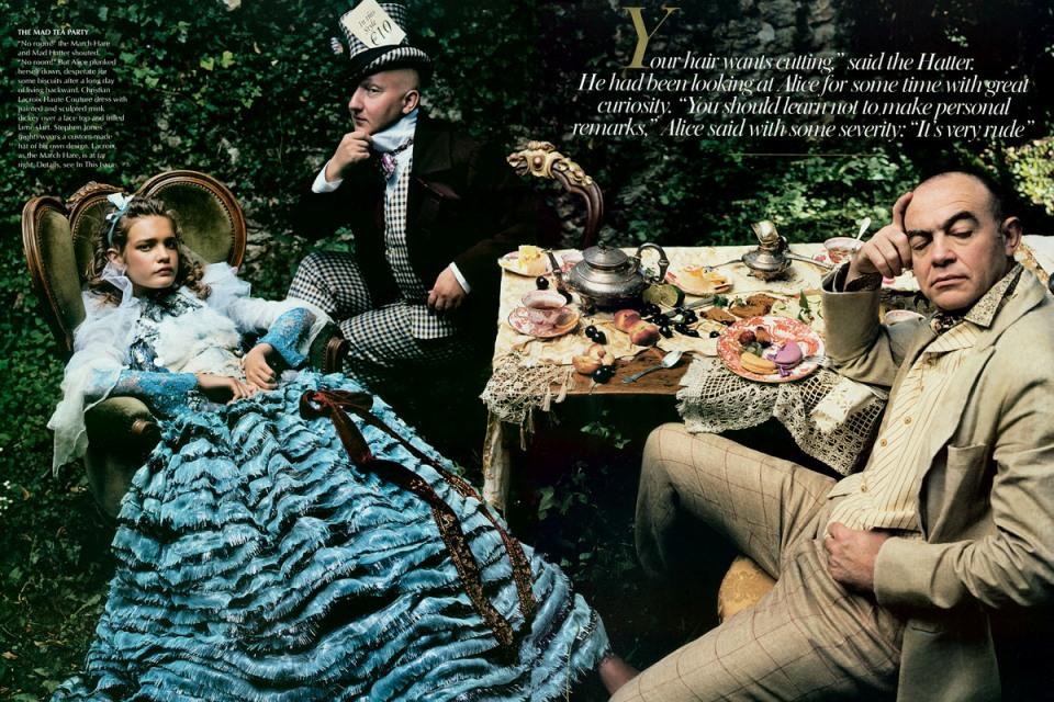 Leibovitz - Mad Tea Party
