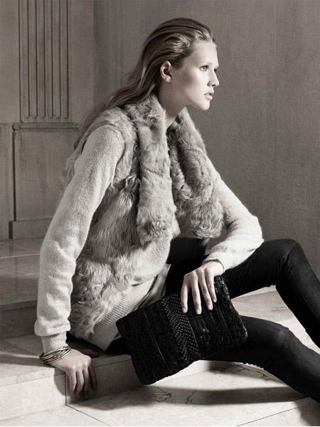 Toni Garrn - Zara campaign