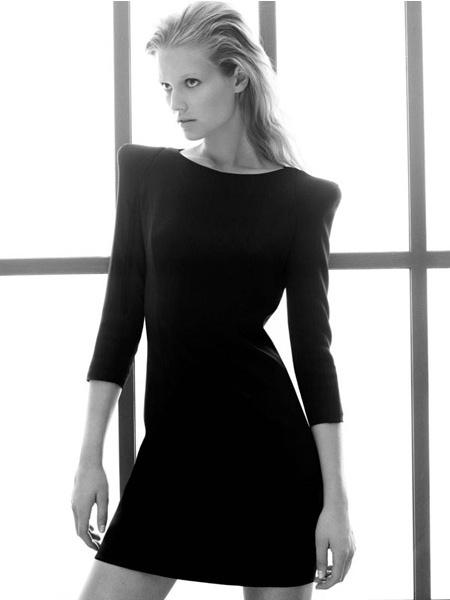 Zara ad fall 2009 - Toni Garrn