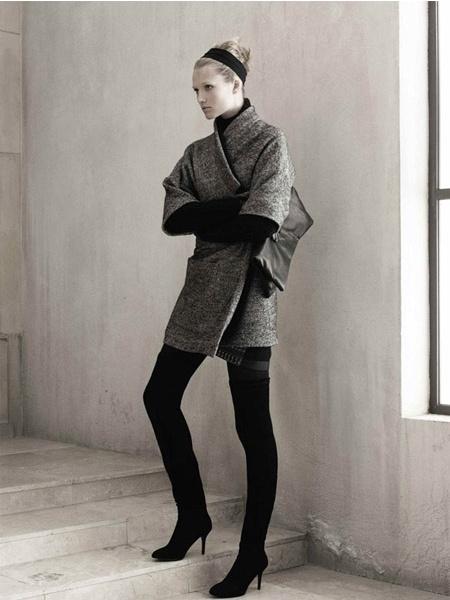 Toni Garrn - Zara ads 2009/2010