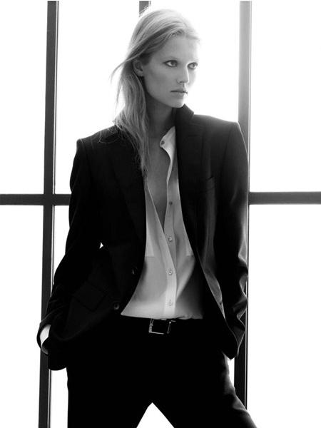 Toni Garrn - Zara campaign fw 09/10